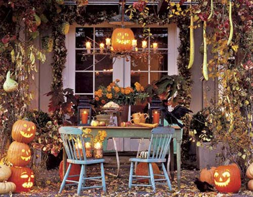 halloween decorating with pumpkins halloween home and