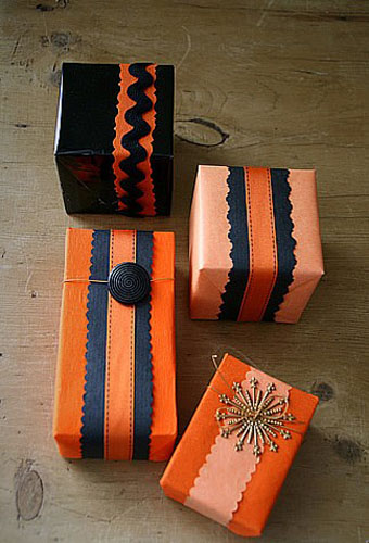 creative halloween decorations and ideas for gifts, inspired by pumpkins colors