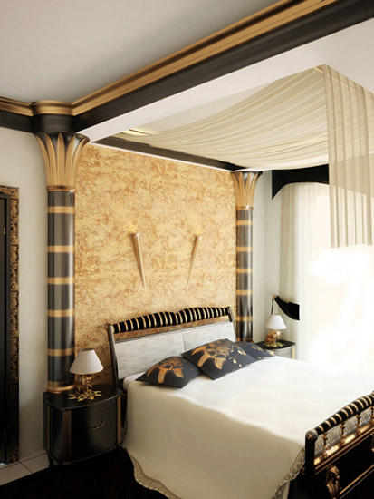 Egyptian Interior Decor And Bedroom Decorating Ideas
