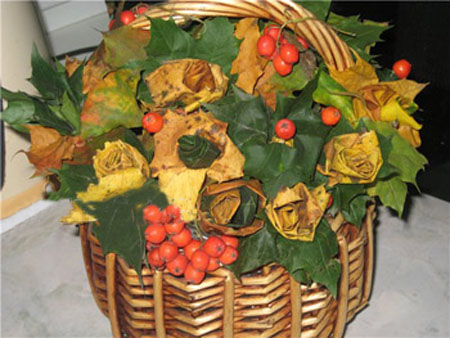 fall crafts and table decorations are beautiful centerpiece ideas for thanksgiving decorating