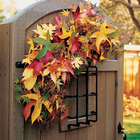 Fall decorating ideas thanksgiving and halloween yard How to decorate your house for thanksgiving