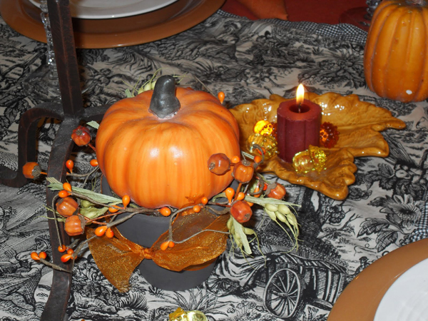 orange fall ideas and holiday decorations for thanksgiving decor