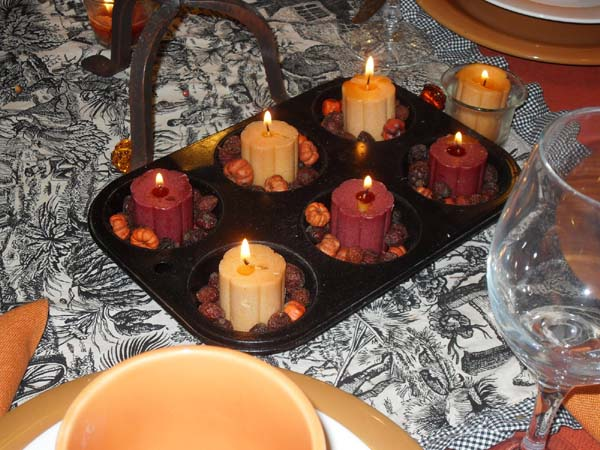 creative candles centerpieces and fall craft ideas for thanksgiving decorating
