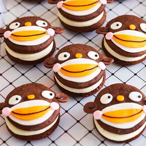 monkey cookies are creative halloween ideas for kids