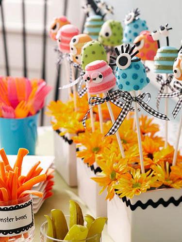 Halloween Muffins Decorations