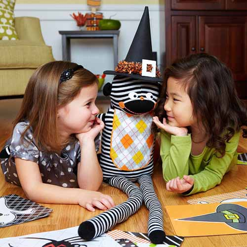 halloween ideas for kids include toys and favorite characters