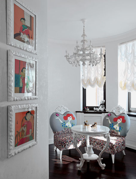 kids room decorating ideas in art nouveau style