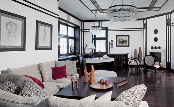 20 Bold Art Deco Inspired Living Room Designs Rilane