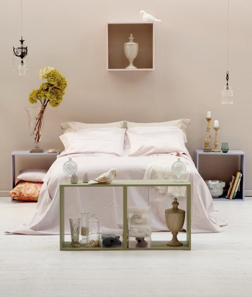 Light Bedding Fabric African Decorations And Indoor Plants For Modern Bedroom Decor