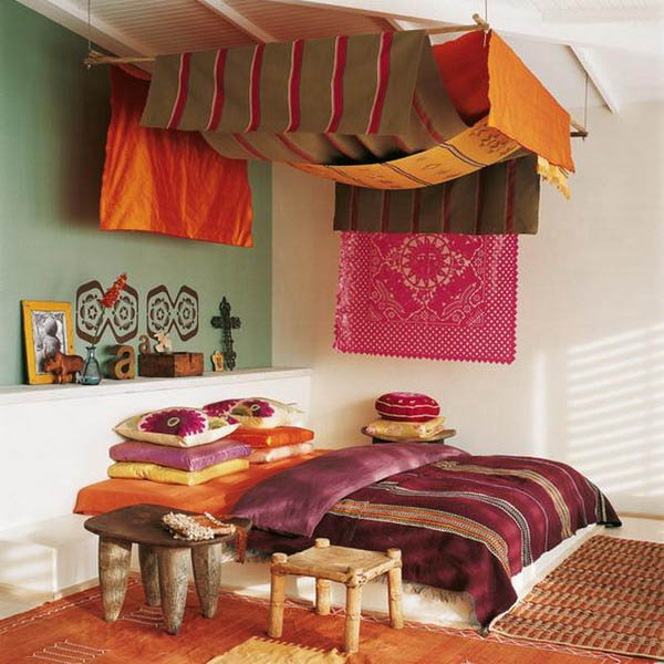 16 bedroom decorating ideas with exotic african flavor for Different bedroom design styles