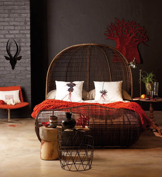 Home Design Ideas Decorating: 16 Bedroom Decorating Ideas With Exotic African Flavor