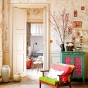 bright colors for living room design