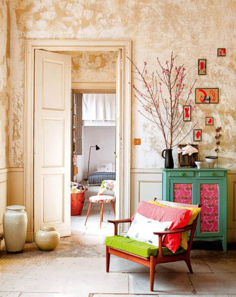 Colorful Modern Interior Design Ideas From French Artists