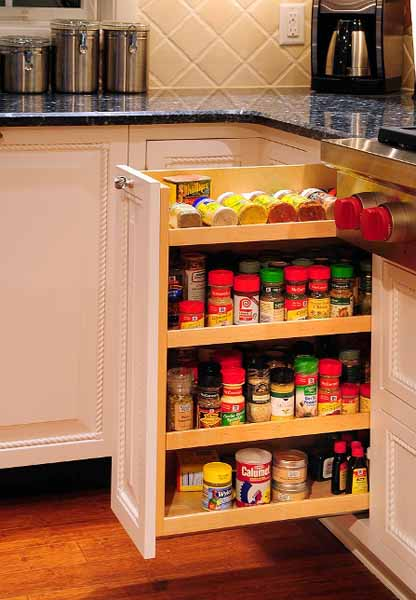 Modern Kitchen Accessories for Spices Storage, Contemporary Spice