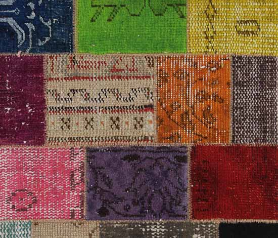 oriental rug pieces used for contemporary floor decor ideas in patchwork  fabric pattern ...