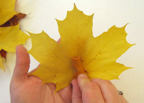 Maple leaves centerpiece ideas fall crafts for for Leaf crafts for adults