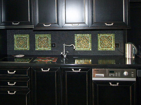 mosaic tiles for kitchen decorating