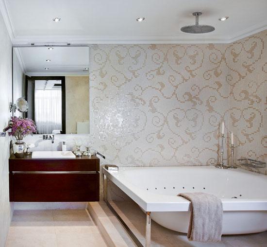 bathroom decorating in art deco style