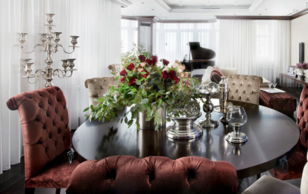 art deco style and dining room decorating ideas