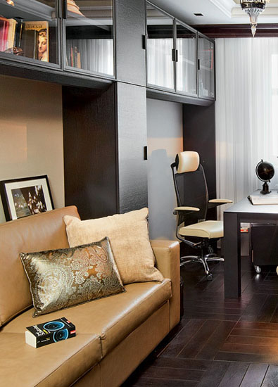 home office decorating in art deco style