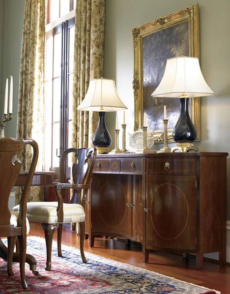 Biedermeier furniture style for modern interior design