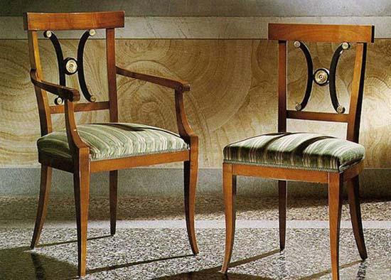 chairs in the Biedermeier style