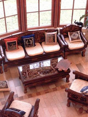 living room furniture for colonial homes