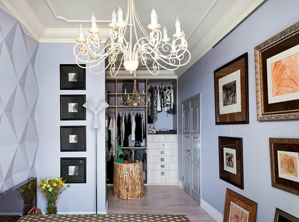 Modern interior design in eclectic style with parisian chic - Parisian interior design style ...