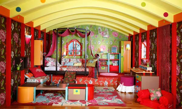 Colorful Ideas For Decorating Girls Bedrooms Gypsy