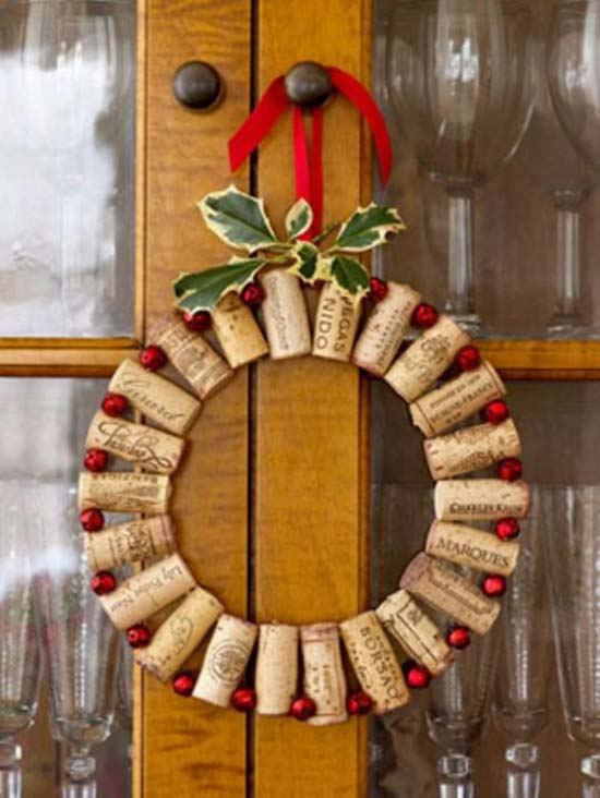 making wreaths for fall and winter decorating 30 door