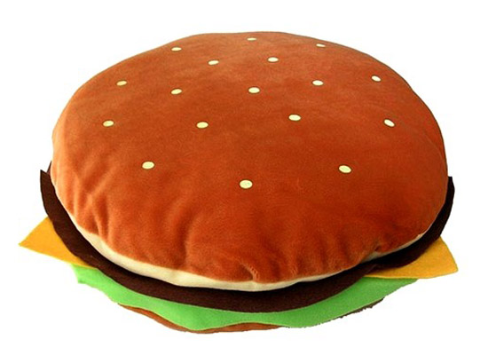 burger cushion