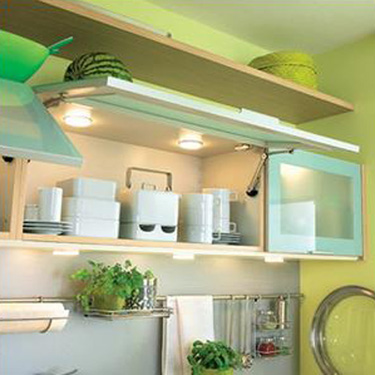Green Paint and Kitchen Accessories, Small Kitchen Decorating Ideas
