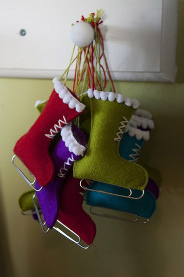 Holiday Craft: Simple Stockings