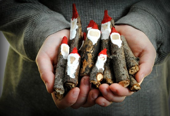 wood crafts and simple christmas decorating ideas