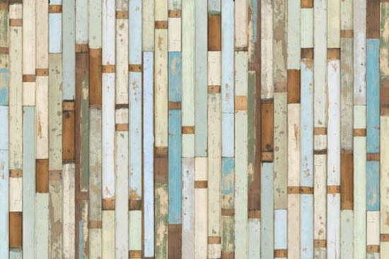 Painted Wood Wallpaper Pattern