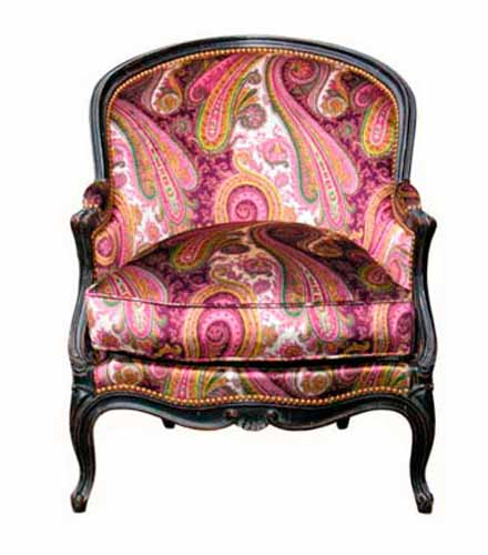 Vintage furniture upholstery fabrics and painting ideas for Retro and vintage furniture