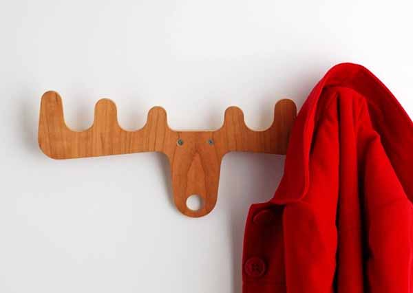 deer antler clothes rack