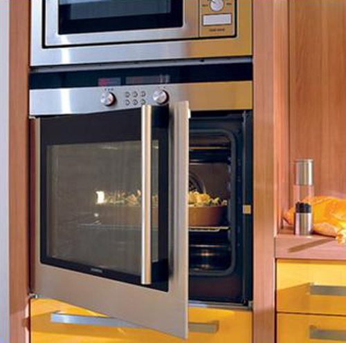 built-in contemporary kitchen appliances