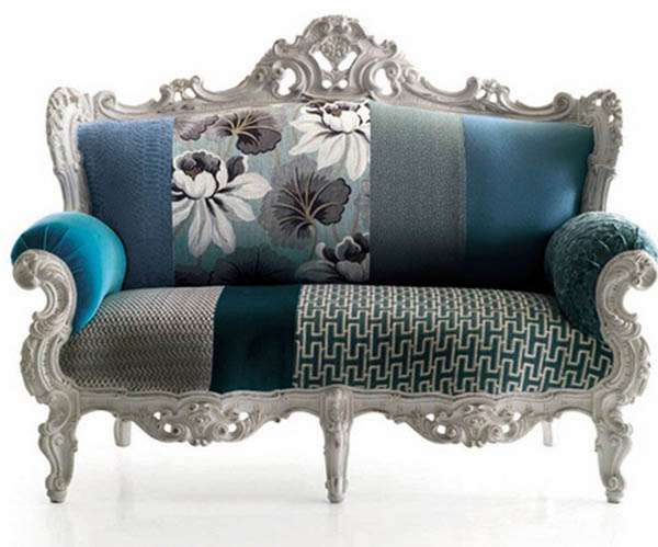 The Stylish Combination Of Fl Upholstery Fabric Print With Coordinating Furniture Fabrics In Solid Colors Are Offered By Italians