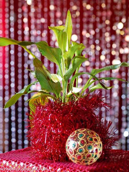 christmas table decorations and ideas for new years eve party