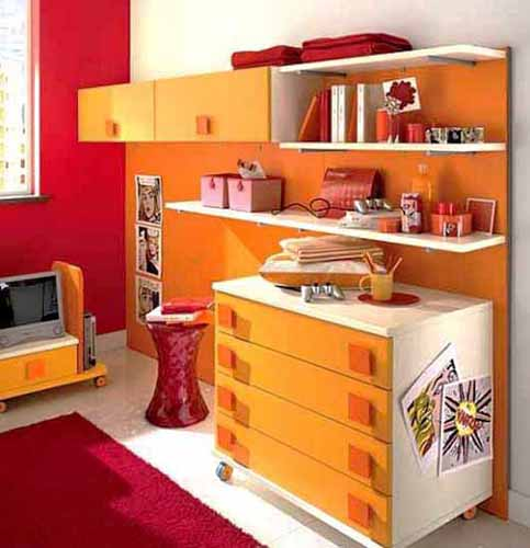 Inspiration pab - Interior orange paint colors ...