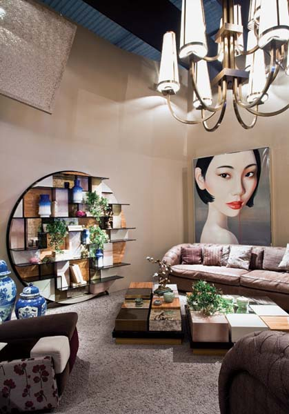 Modern oriental interior decorating ideas from jp passion for Home furnishing china