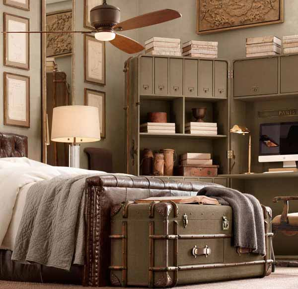 retro furniture for bedroom decorating