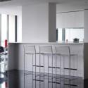 white furniture for modern kitchen design