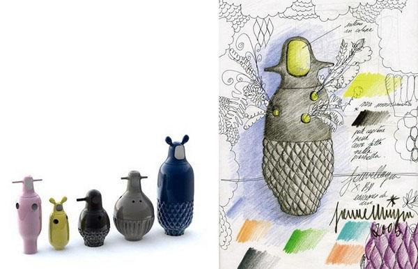 unique porcelain vases for home decorating