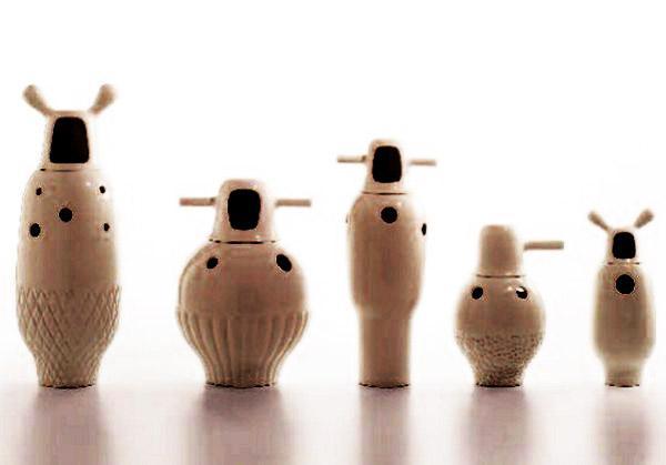 Unusual Porcelain Vases