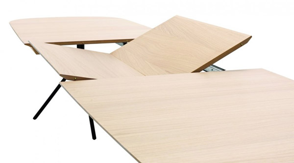 dining table made of wood material