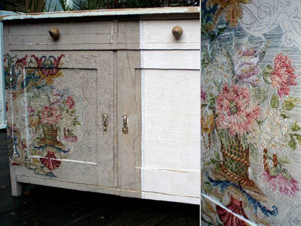 floral pattern for painting old furniture
