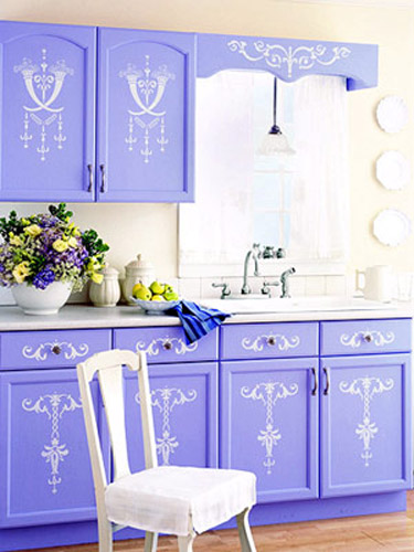 painting ideas for wooden kitchen cabinets