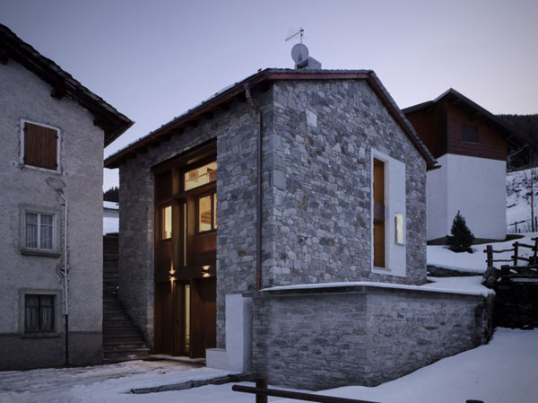 italian style country home after renovation